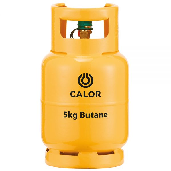 Calor 5kg butane refill bottle