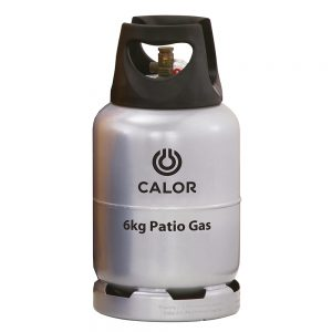 Calor 6kg patio gas refill bottle